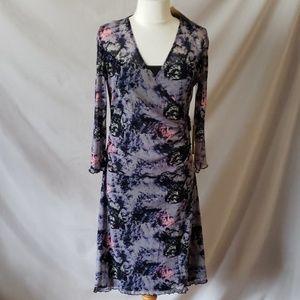 Vertigo mesh dress